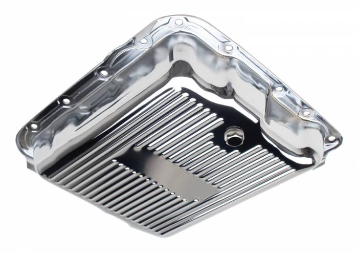 Trans-Dapt Performance Products - Trans-Dapt Performance Products Chrome Transmission Pan 9740