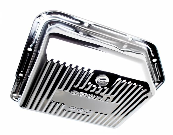 Trans-Dapt Performance Products - Trans-Dapt Performance Products Chrome Transmission Pan 9122