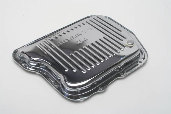 Trans-Dapt Performance Products - Trans-Dapt Performance Products Chrome Transmission Pan 9733