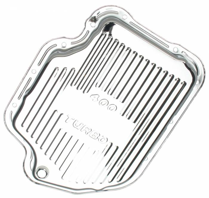 Trans-Dapt Performance Products - Trans-Dapt Performance Products Chrome Transmission Pan 9121