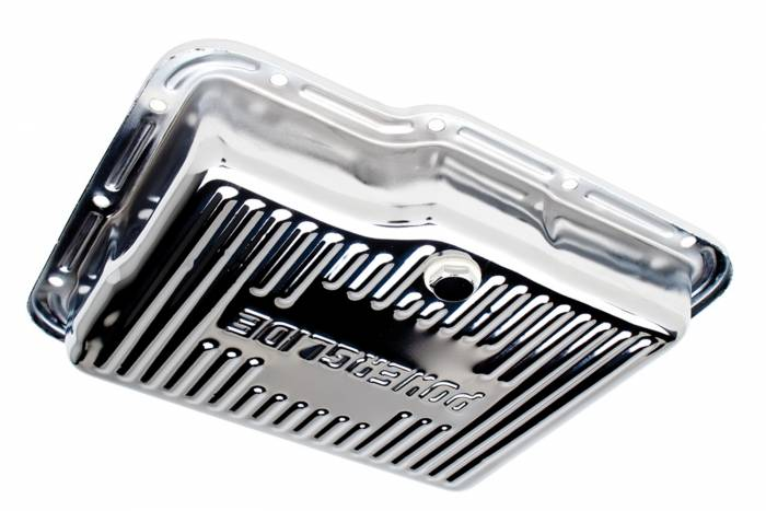 Trans-Dapt Performance Products - Trans-Dapt Performance Products Chrome Transmission Pan 9124
