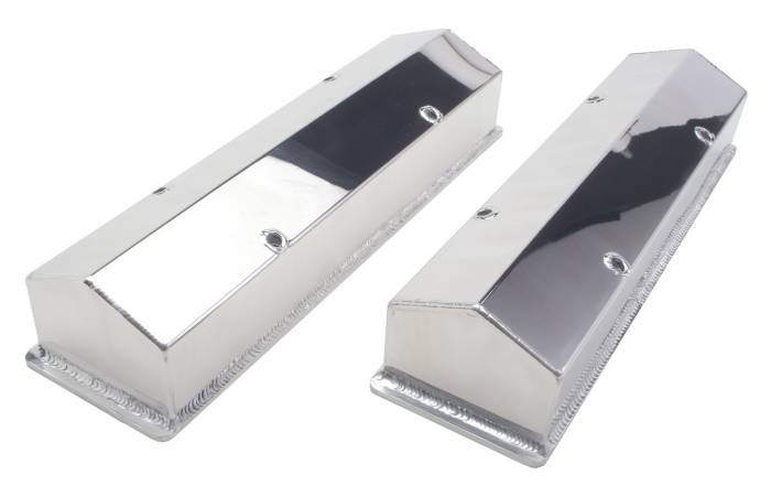 Trans-Dapt Performance Products - Trans-Dapt Performance Products Polished Aluminum Fabricated Valve Cover 1097