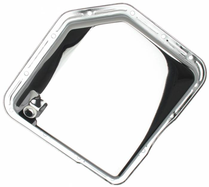 Trans-Dapt Performance Products - Trans-Dapt Performance Products Chrome Transmission Pan 9074