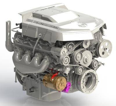 Kwik Performance - K10355 - Low Mount AC Bracket For LSA For SD7-7176 Compressor