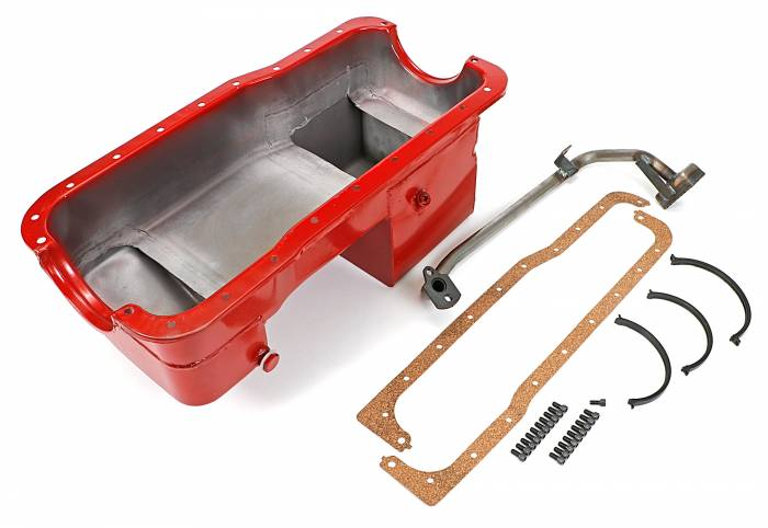 Trans-Dapt Performance Products - Trans-Dapt Performance Products Hamburgers Econo Series Oil Pan 3080