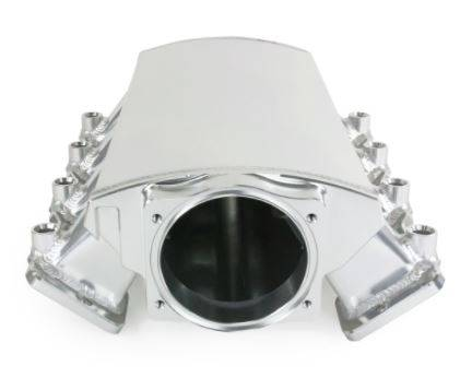 TSP - TSP-81003CA - LS3 / L92 Style EFI Ram Style, Fabricated Aluminum Intake For Use W/ 102mm  LS Throttle Body, Clear Anodized