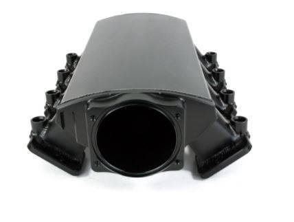 TSP - TSP-81003BK - LS3 / L92 Style EFI Ram Style, Fabricated Aluminum Intake For Use W/ 102mm  LS Throttle Body, Black Anodized