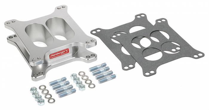 Trans-Dapt Performance Products - Trans-Dapt Performance Products Hamburgers Billet Aluminum Carb Spacer 3218