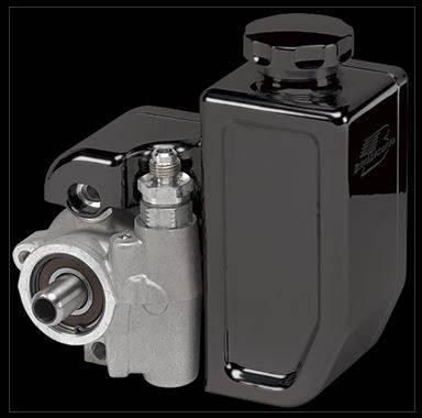 Billet Specialties - BSPBLK77930 -Billet Specialties Billet Bolt-On Reservoir-Black