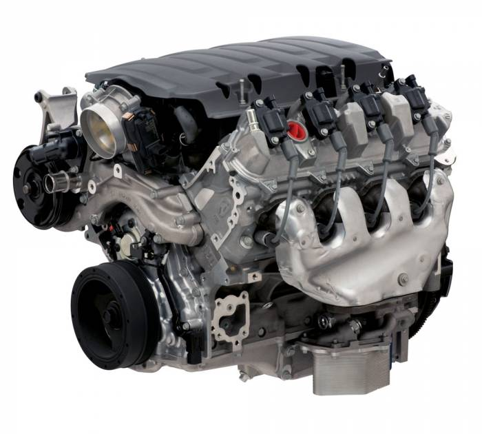 Chevrolet Performance Parts - 12682080 - CPP LT1 Wet-Sump 6.2L 455HP EROD Crate Engine 4L and T56