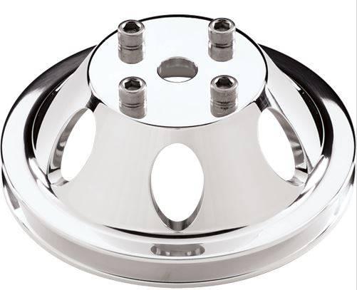 Billet Specialties - BSP78110 - BILLET SPECIALTIES Water Pump Pulley - Small / Big Block Chevy - 1 Groove