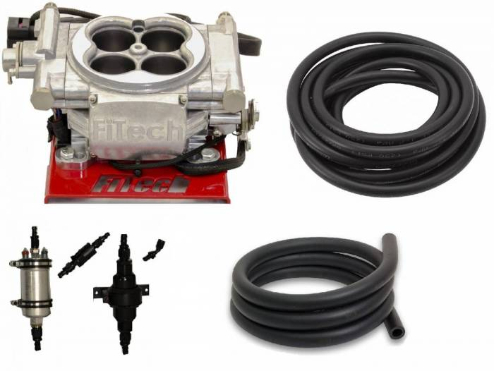 FiTech Fuel Injection - FTH-31001 - 600HP Carb Swap EFI Master Package with In-Line Fuel Pump