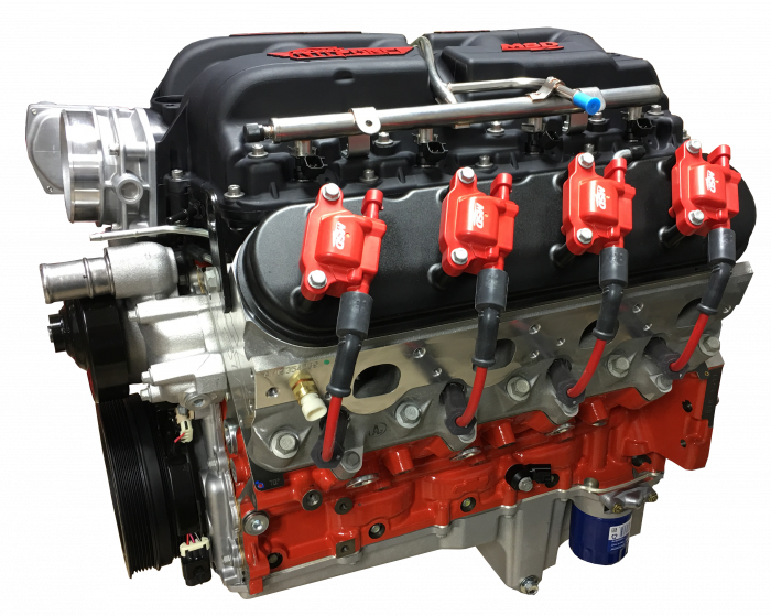 PACE Performance - LSX 454 599HP Pace Exclusive Crate Engine with MSD Atomic Intake GMP-19417357-7AFO
