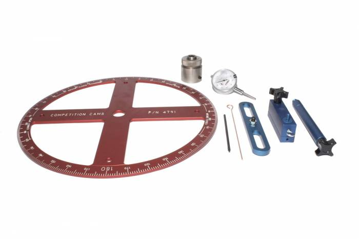 Competition Cams - Competition Cams Pro Degree Wheel Kit 4939