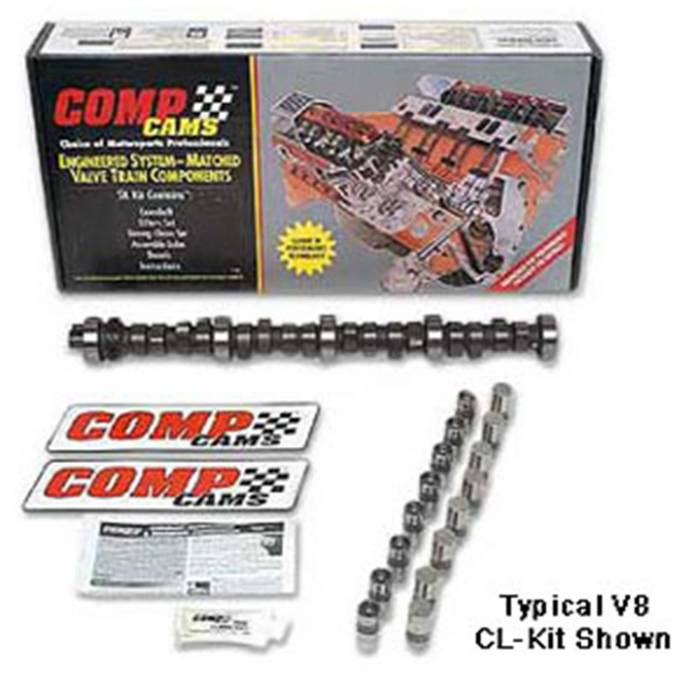 Competition Cams - Competition Cams Magnum Camshaft/Lifter Kit CL18-412-8