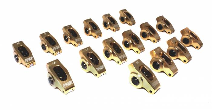 Competition Cams - Competition Cams Ultra-Gold Aluminum Rocker Arm Set 19004-16