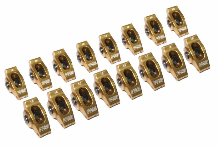 Competition Cams - Competition Cams Ultra-Gold Aluminum Rocker Arm Set 19005-16