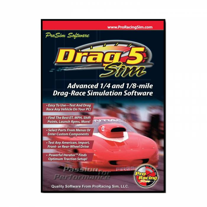Competition Cams - Competition Cams ProRacing Sim DragSim5 Top Of The Line Drag Racing Simulation 181601