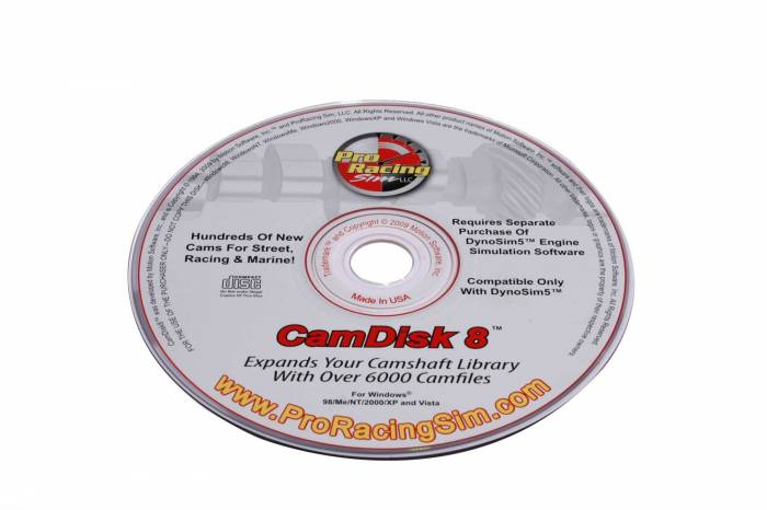 Competition Cams - Competition Cams CamDisk8 180908