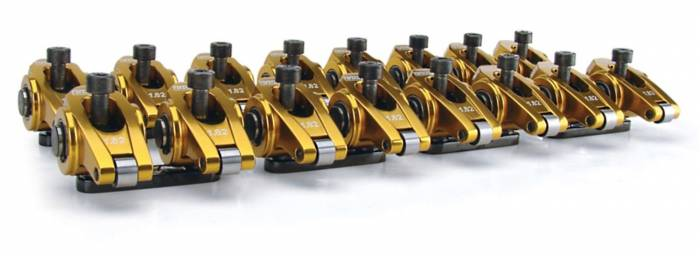 Competition Cams - Competition Cams Ultra-Gold Aluminum Rocker Arm Set 19024-16
