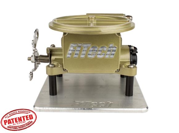 FiTech Fuel Injection - FTH-39001 - Go EFI 2 Barrel 400HP Classic Carburetor Gold