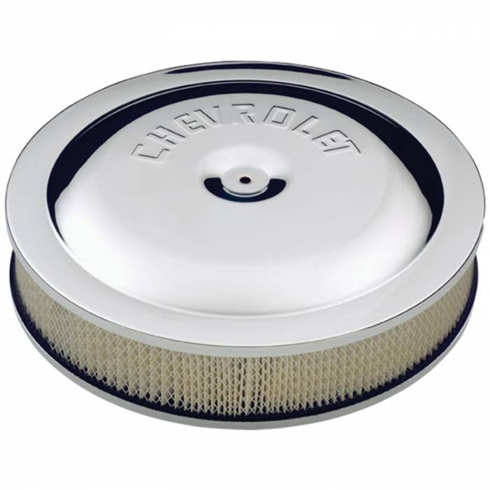 """Proform - 141307 - Chevy 14"""" High-Performance Air Cleaner Kit. 3"""" Tall, Air Filter Included"""