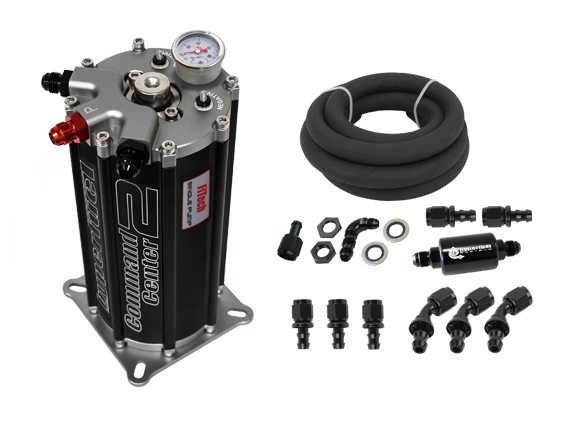 FiTech Fuel Injection - FTH-40004 - Fitech Hyperfuel Fuel Command Center 2.0