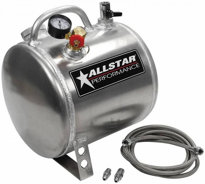 Allstar Performance - ALL10535 - Engine Oil Pressure Primer Tank