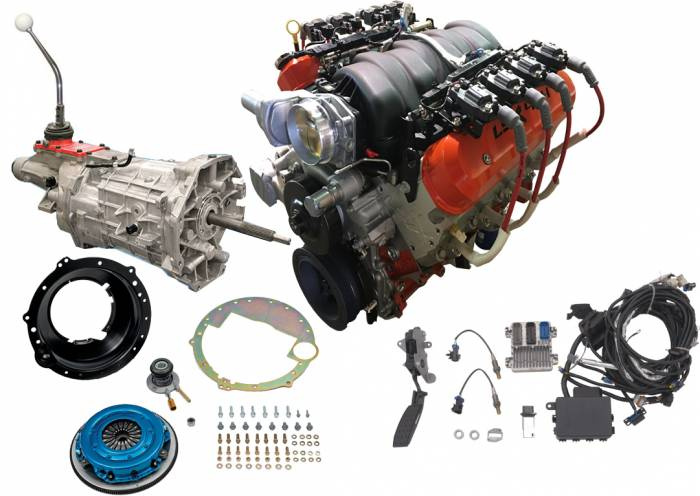 PACE Performance - GMP-LSX454T56 - Chevy Performance LSX454  with 6 Speed M/T Combo