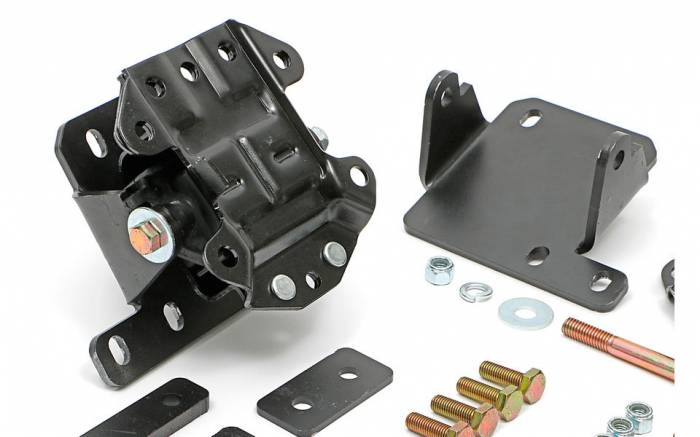 Trans-Dapt Performance Products - TD4601 - Motor Mount Kit, LS into 68-72 Chevelle, El Camino with TH350 / 700R4, Stock Location, Rubber Pads