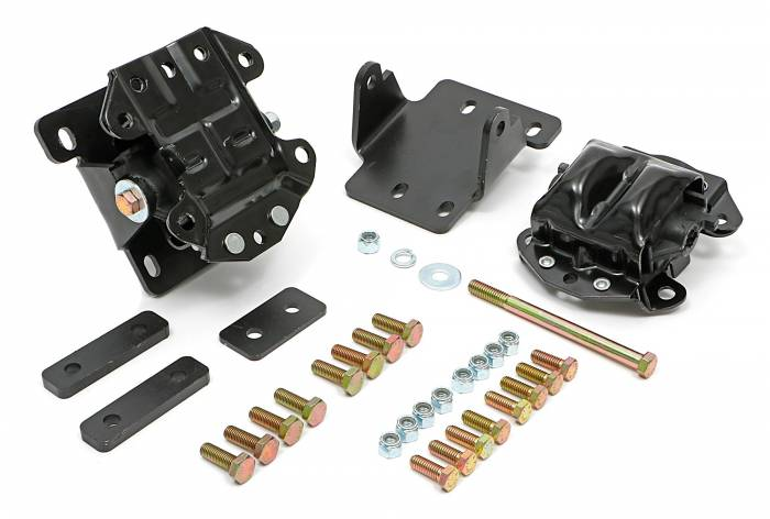 Trans-Dapt Performance Products - TD4600 - Motor Mount Kit, LS into 68-72 Chevelle, El Camino with 4L60 / 4L70, Forward Location, Rubber Pads