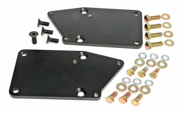 """Trans-Dapt Performance Products - TD4525 - Trans Dapt Engine Swap Mounts for Gen 5 LT Engine into SBC Chassis, 1-1/8"""" Rearwards, NO Pads"""