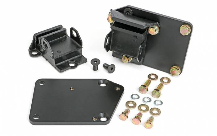 """Trans-Dapt Performance Products - TD4520 - Trans Dapt Engine Swap Mounts for Gen 5 LT Engine into SBC Chassis, 5/8"""" Forward, Rubber Pads"""