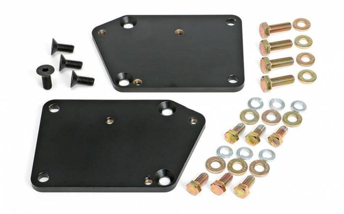 """Trans-Dapt Performance Products - TD4519 - Trans Dapt Engine Swap Mounts for Gen 5 LT Engine into SBC Chassis, 5/8"""" Forward, NO Pads"""