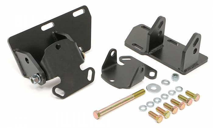 Trans-Dapt Performance Products - TD4529 - Trans Dapt Solid Motor Mount Kit , Chevy 283-350 into S10 , S15 (4WD)