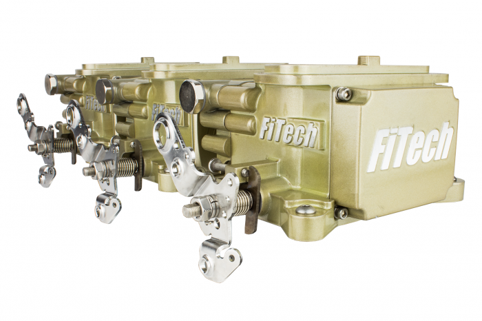 FiTech Fuel Injection - FTH-39610 - Fitech Go EFI Tri-Power 600HP System
