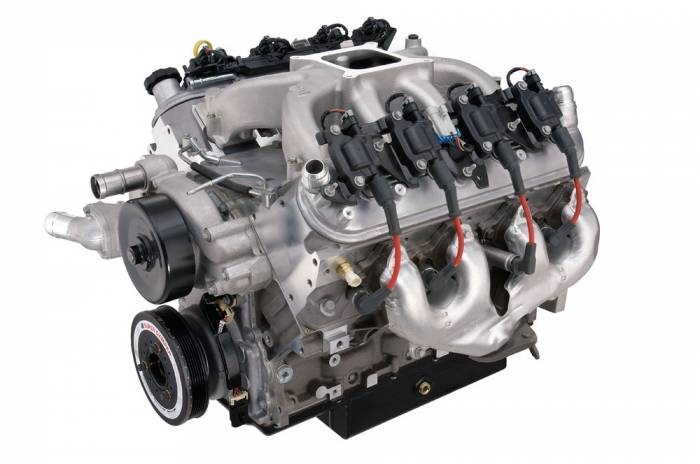 Chevrolet Performance Parts - 19331563 - Chevrolet Performance Parts CT525 LS3 6.2L (sealed) Circle Track Race Engine 376CID 533HP