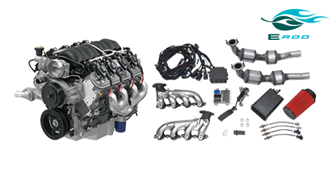 Chevrolet Performance Parts - 19370414 - GM LS3 6.2L Gen IV E-ROD Engine Package (Automatic Transmission)