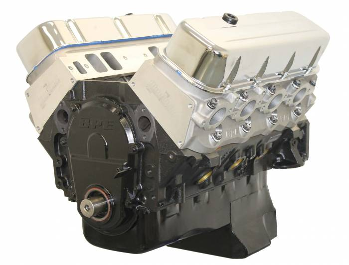 Blue Print - BluePrint Engines 496CI 561HP Stroker Crate Engine Big Block GM Style Longblock Aluminum Heads Roller Cam Power Adder Ready BP49610CT