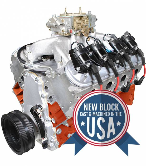 Blue Print - PSLS4270CTC - BluePrint Engines 427CI 625HP ProSeries Stroker Crate Engine, GM LS Style, Dressed Longblock with Carburetor, Aluminum Heads, Roller Cam