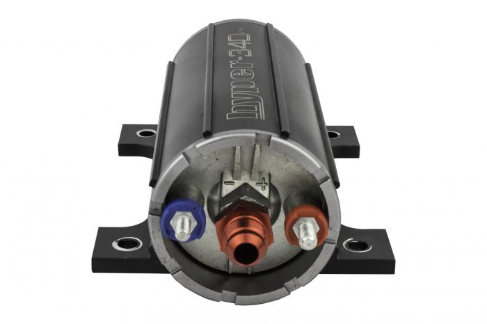 Hyperfuel Systems - Inline Fuel Pump 340LPH Hyperfuel 40104