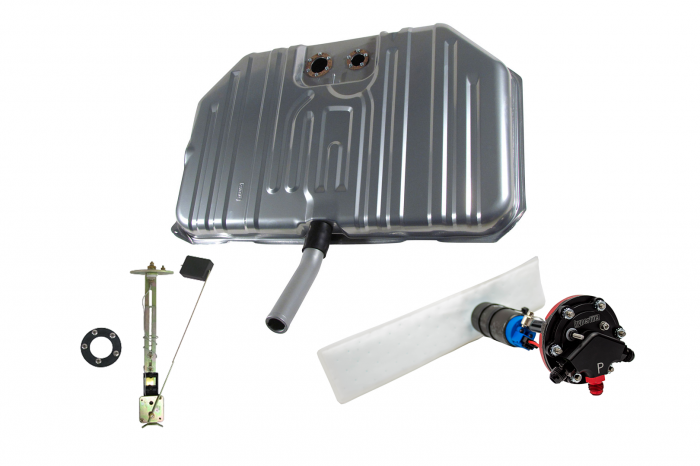 Hyperfuel Systems - 1971-72 Chevelle Notched Corner EFI Tank and 340LPH Pump Hyperfuel 47029
