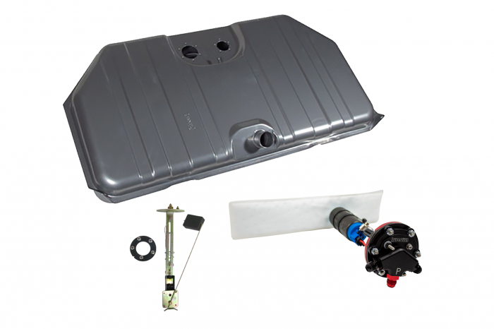 Hyperfuel Systems - Fuel Tank 1967-8 Camaro Firebird Notched Corner EFI Fuel Tank with 40017 Pump Kit Hyperfuel 48006