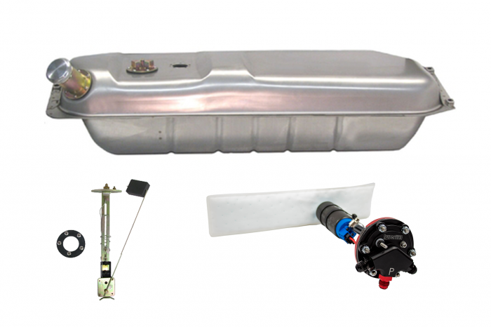 Hyperfuel Systems - Fuel Tank 1933-34 Ford EFI Fuel Tank with 240-33 Ohm Sender with 40017 Pump Kit Hyperfuel 48020