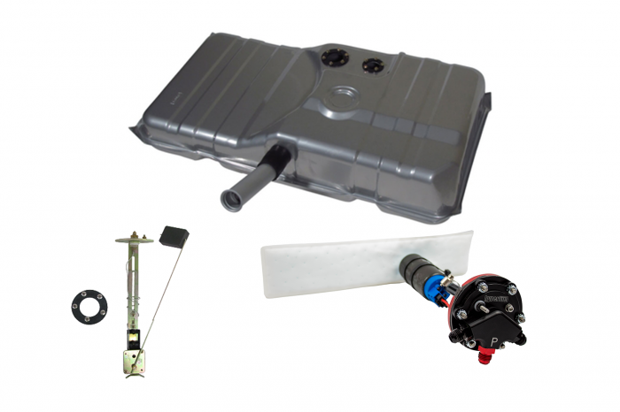 Hyperfuel Systems - Fuel Tank 1978-81 Camaro EFI Fuel Tank Sender and Straps with 40017 Pump Kit Hyperfuel 48022