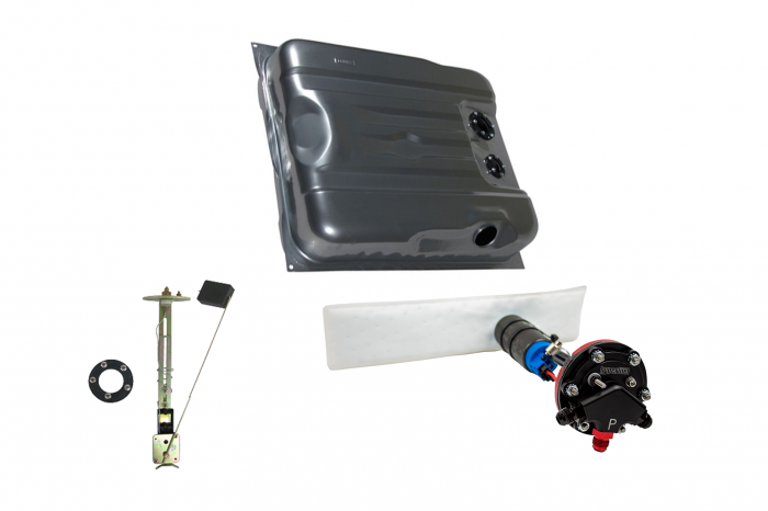 Hyperfuel Systems - Fuel Tank 1970-74 Challenger EFI Fuel Tank Sender and Straps with 40017 Pump Kit Hyperfuel 48026