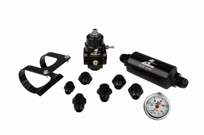 Aeromotive - AEI17256 - Bypass Carbureted Stealth Fuel System