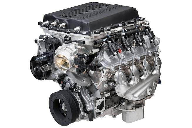 Chevrolet Performance Parts - LT5 6.2L Supercharged Crate Engine 755 hp 715 lbs torque Dry Sump Chevrolet Performance 19417105