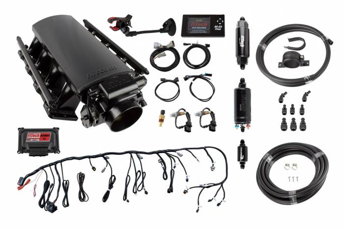 FiTech Fuel Injection - FTH-71015 - Ultimate LS7 500HP Square Port + In-line Fuel Pump Master Kit