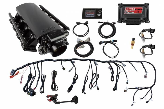 FiTech Fuel Injection - FTH-70018 - Ultimate LS7 750HP Square Port Kit w/ Trans Control